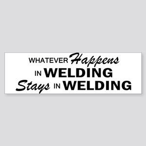 Whatever Happens - Welding Sticker (Bumper)
